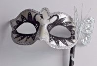 Swan Lake Butterfly Mask